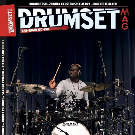 Drumsetmag – Cecilia Sanchietti – L.Lewis